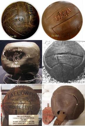 ¿Cuál és la història y evolución del balón de fútbol?