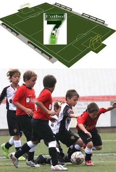 Sistemas de juego de fútbol 7 (1): Aspectos generales.