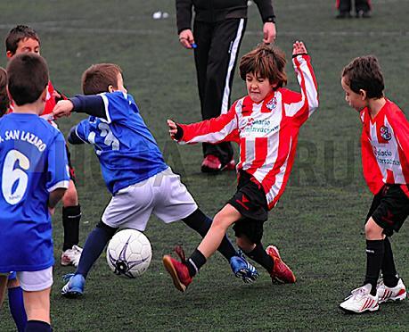 ¿Porqué és mejor el fútbol 7 en niños de 10 y 11 años?