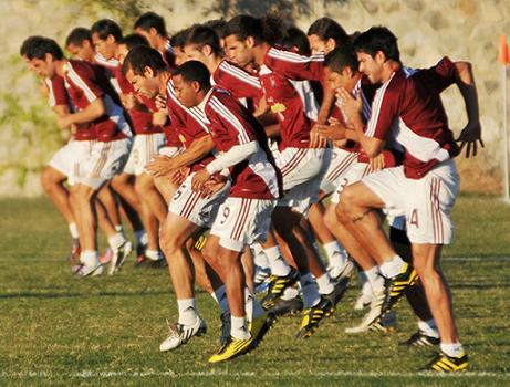 Particularidades de la preparación física específica del jugador de fútbol.