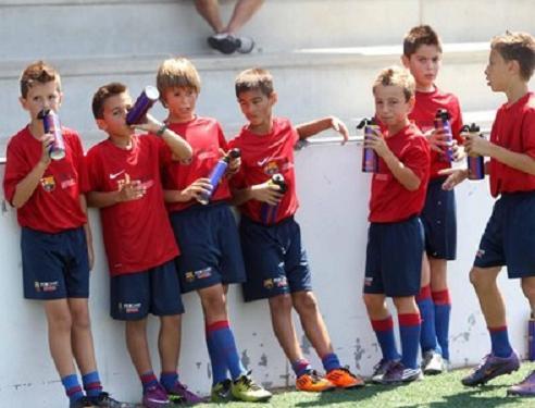La hidratación del futbolista (1).