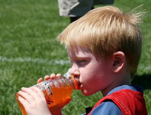La hidratación del futbolista (3).