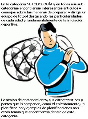 METODOLOGÍA (ARTÍCULOS PARA ENTRENADORES)